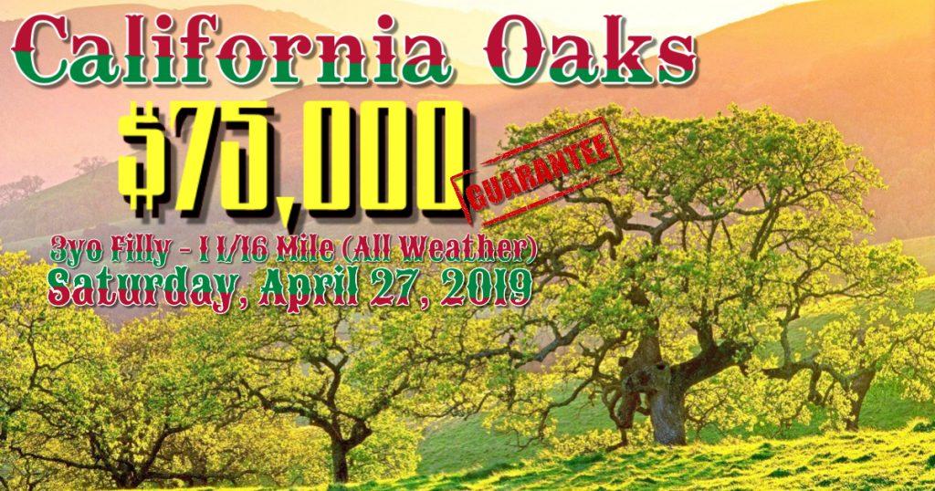 California Oaks-4 27 19 – Golden Gate Fields